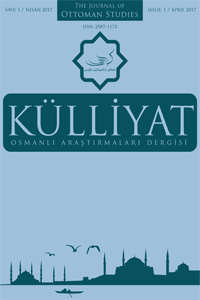 KULLIYAT The Journal Of Ottoman Studies