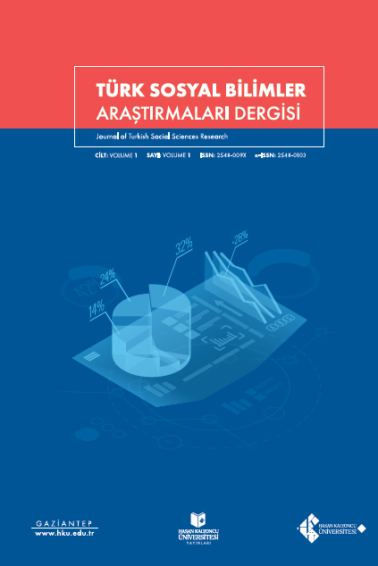Journal of Turkish Social Sciences Research
