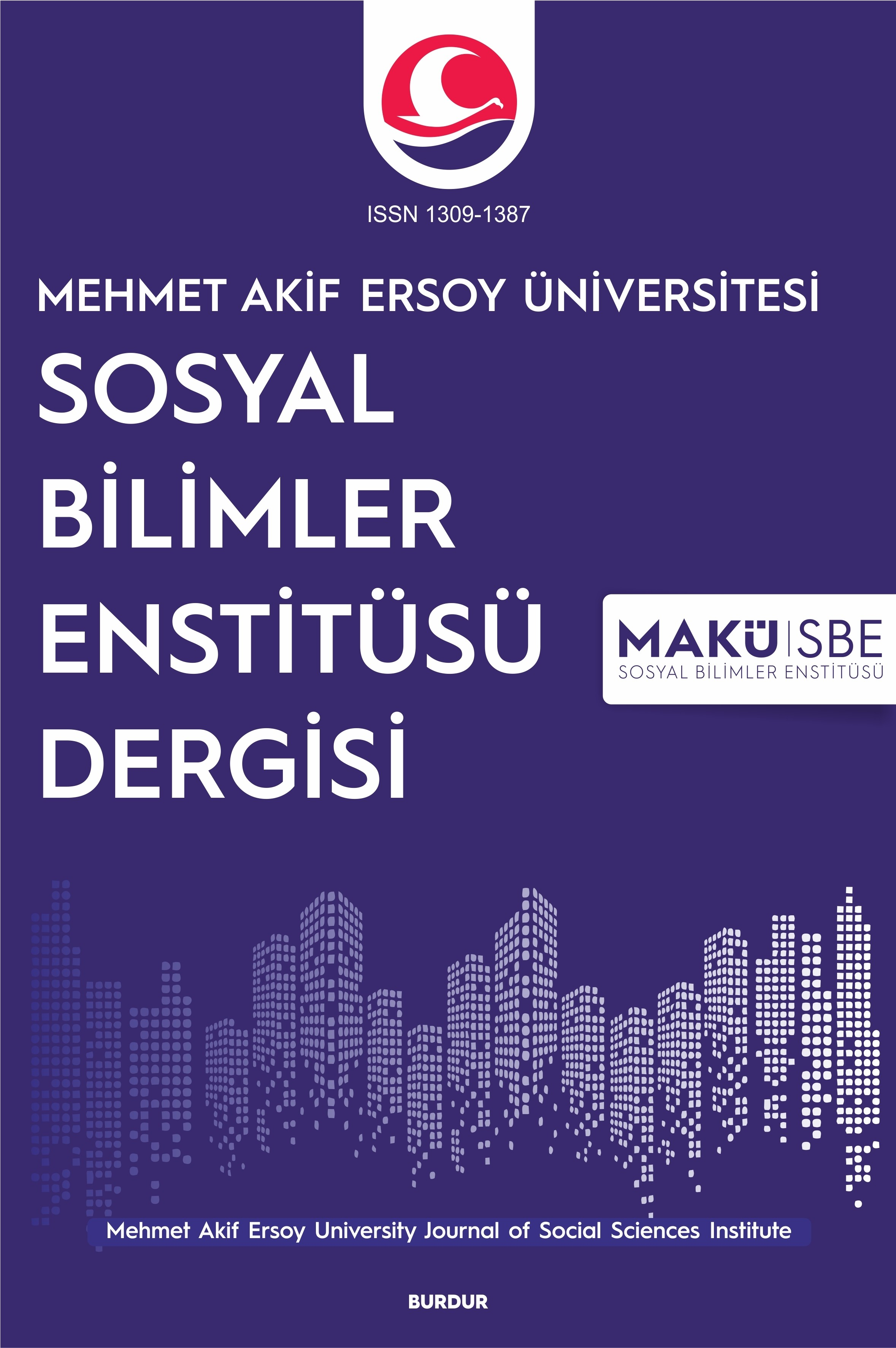 Mehmet Akif Ersoy University Journal of Social Sciences Institute