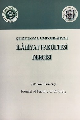 Çukurova University Journal of Faculty of Divinity