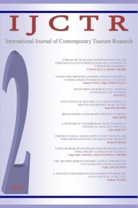 International Journal of Contemporary Tourism Research